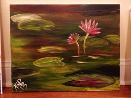Young Lotus Paint Nite