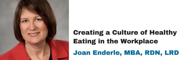 Joan Enderle MBA RDN LRD
