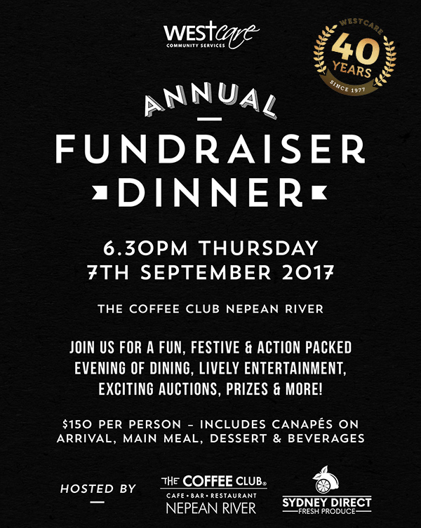 WestCare Dinner invite