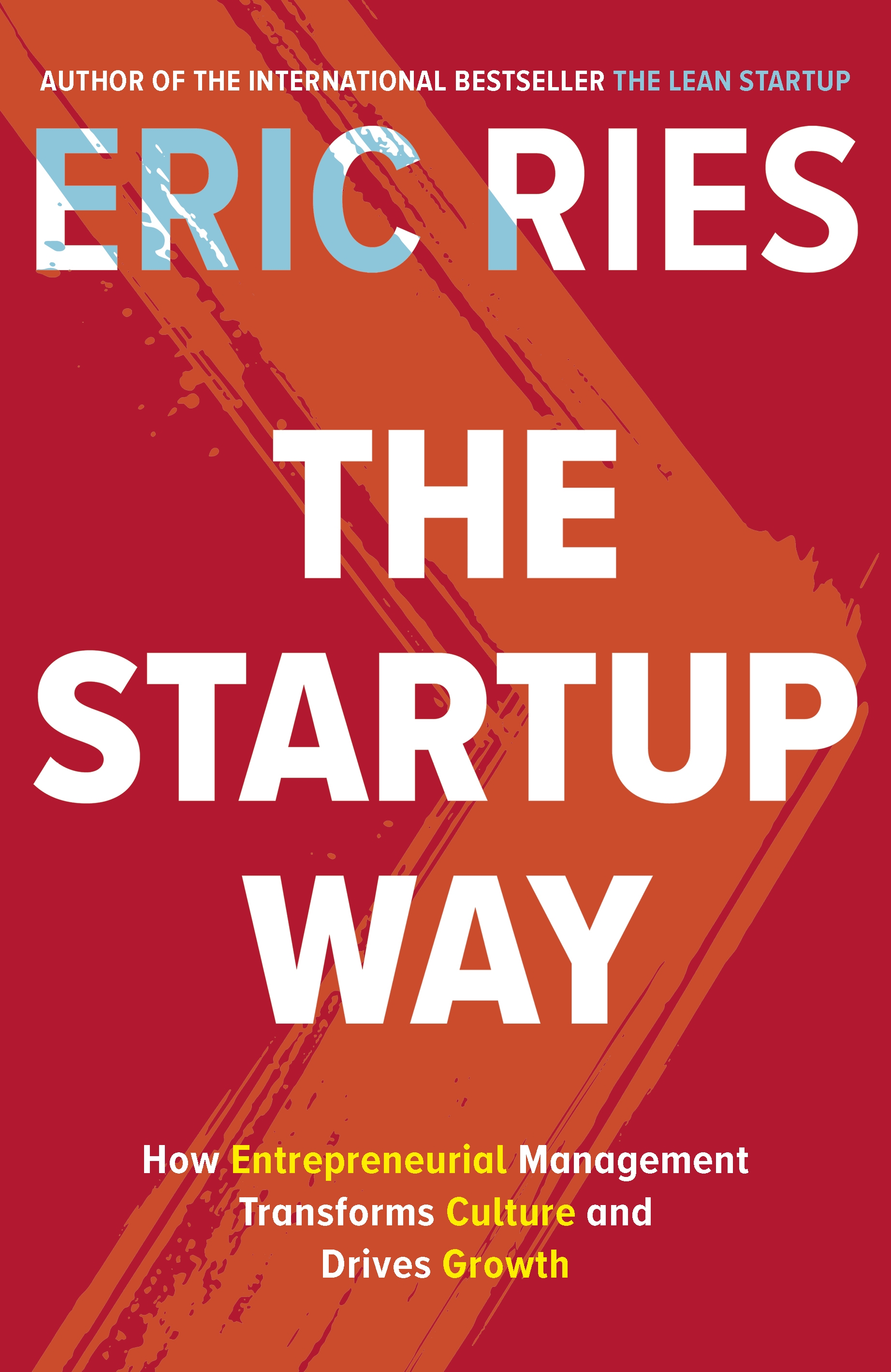 THE START UP WAY BOOK COVER