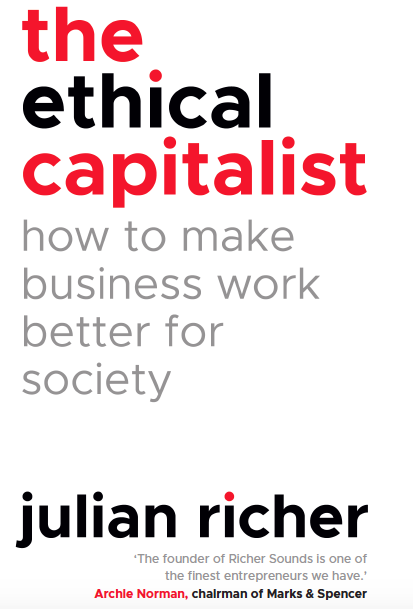 Ethical Capitalism Book Cover