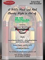 A Rock N Roll Evening in aid of Macmillan Cancer support