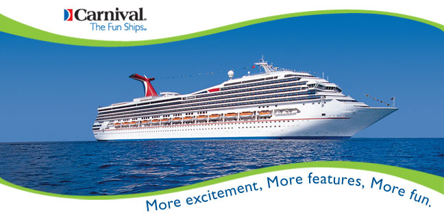 4 day Labor Day Weekend Carnival Cruise Getaway Cozumel Key West