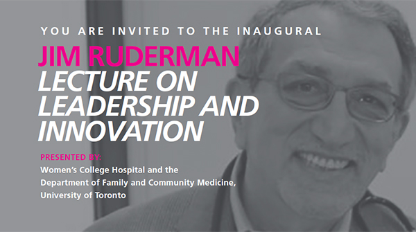 James Ruderman Lecture