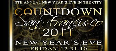"Countdown San Francisco 2011 ""8th Annual New Year's Eve..."