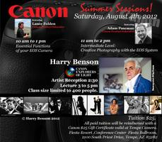 Tempe Camera Presents - Canon's Summer Sessions and Canon's...