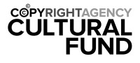 Copyright agency cultural fund logo