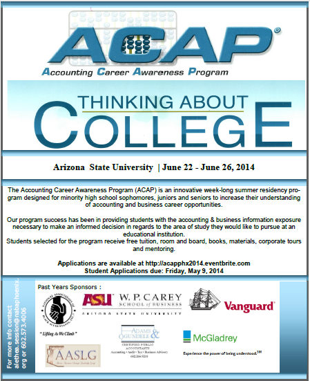 2014 ACAP Flyer Community Distribution
