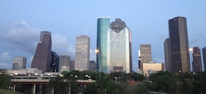 City of Houston Downtown