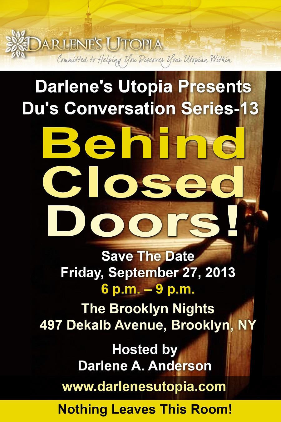 Du's Conversation Series 13.  Darlene A. Anderson