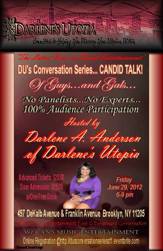 Du's Conversation Series:  Candid Talk!