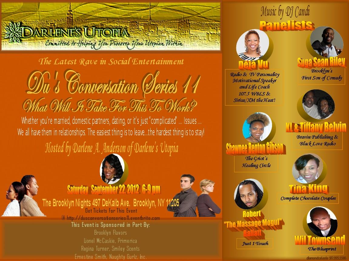 Du's Conversation Series, Panel Line Up