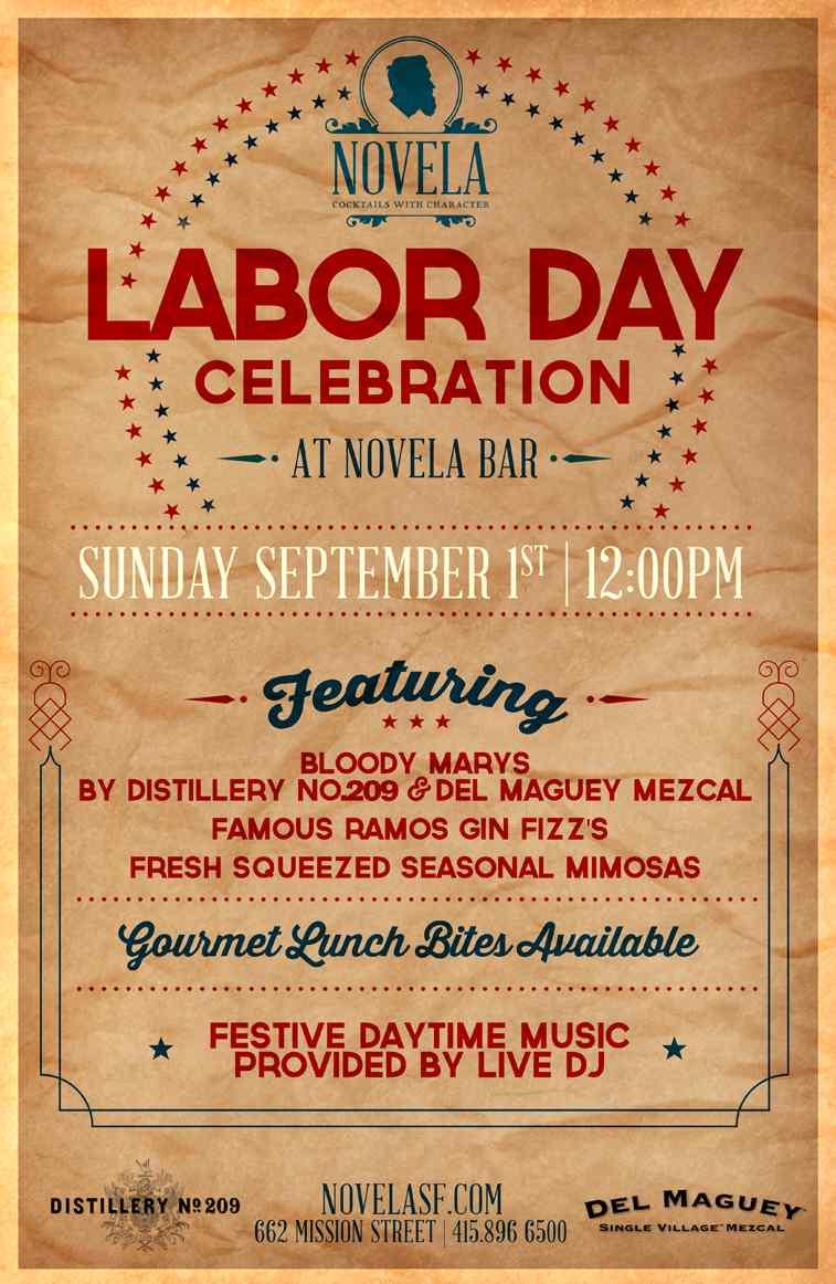 Labor Day Celebration Flier 2
