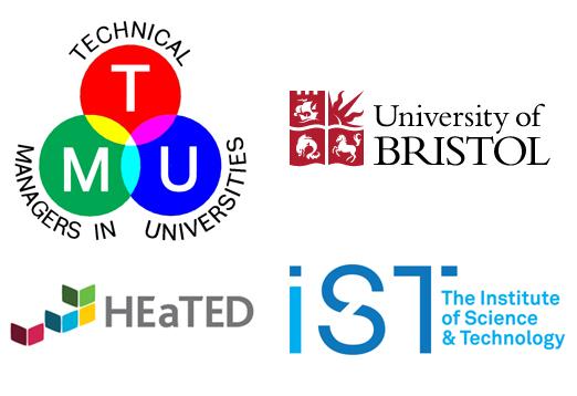 TMU, IST, HEaTED and University of Bristol logos