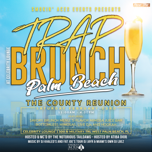 Trap Brunch Palm Beach resize
