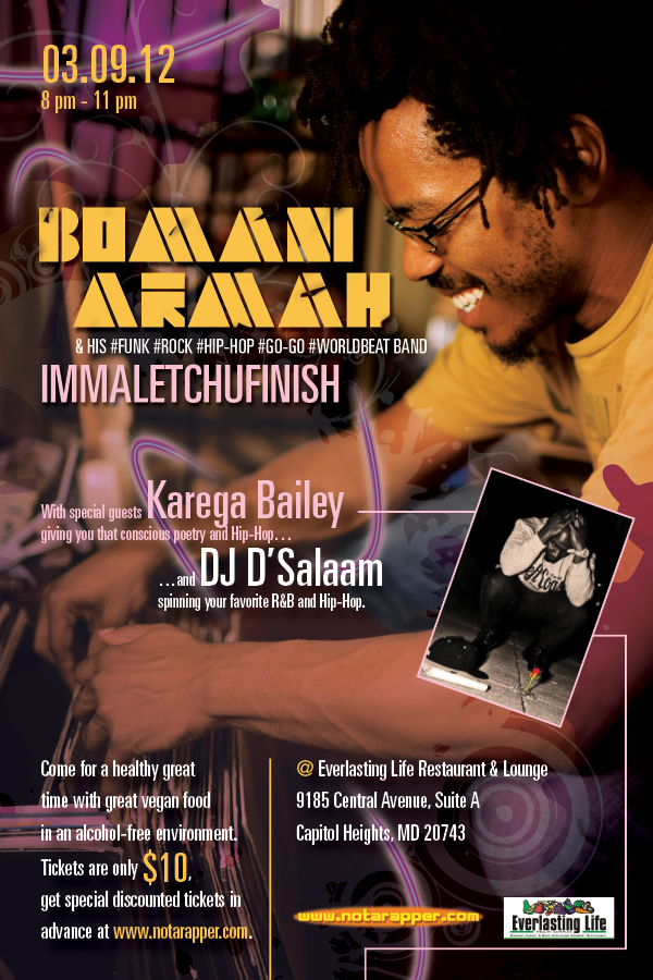 Bomani & Karega at Everlasting Life