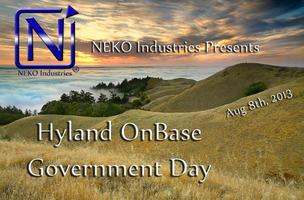 NEKO Industries Presents -  Hyland OnBase Government Day