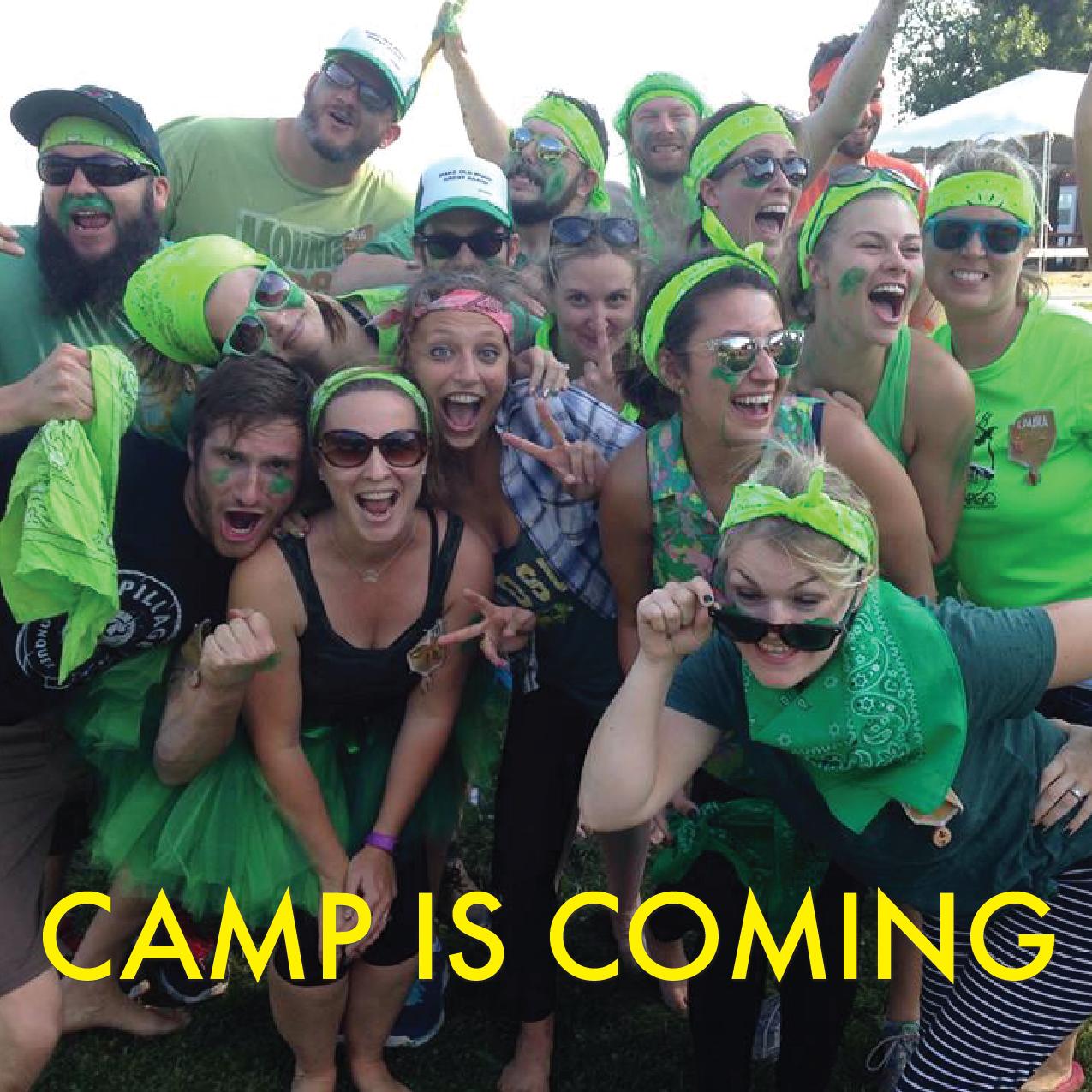 Camp Battle Green Team
