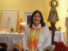 Connie Huebner at Divine Mother Church