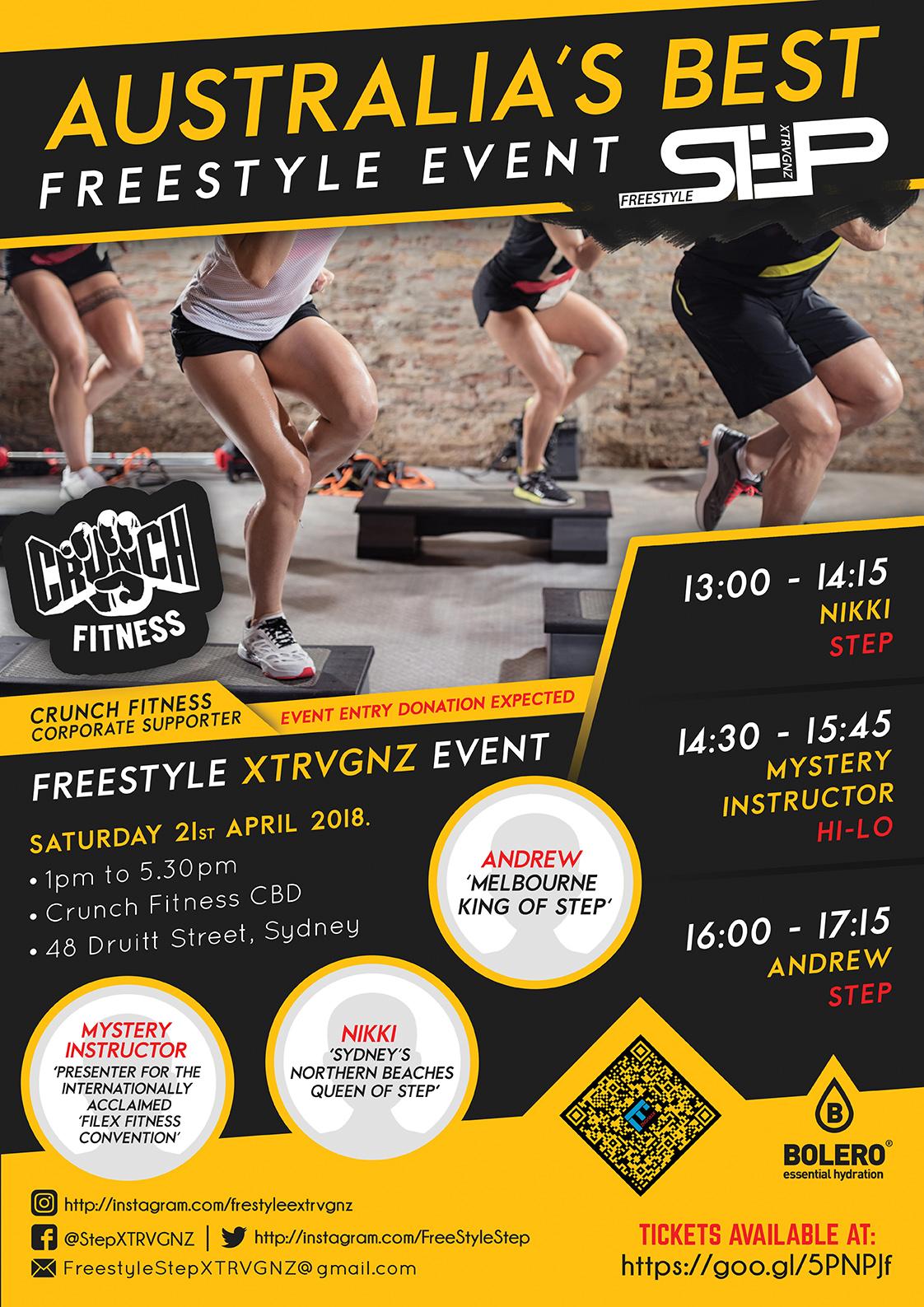 Freestyle XTRVGNZ - 21 Apr 2018