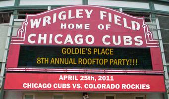 Goldie's Place Cubs Rooftop Party