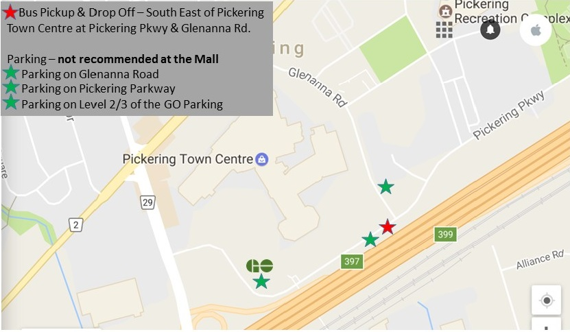 Pickering Town Centre Map