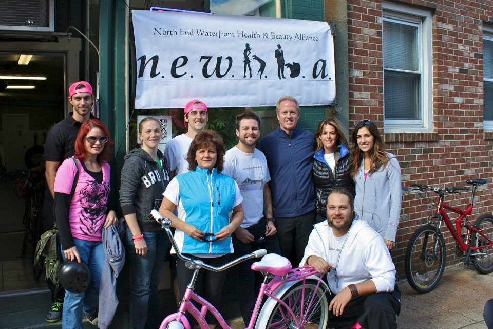 NEWHBA's 1st Annual Boston Bike Tour for Dana-Farber with Special Guest NHL Hall-of-Famer Brian Leetch