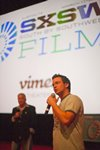 Billy Corben at Square Grouper Premier SXSW