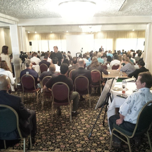 Full house. MTE II was sold out. Great conference.
