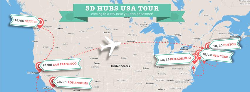3d hubs USA