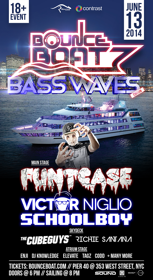 Bounce Boat: Bass Waves Edition