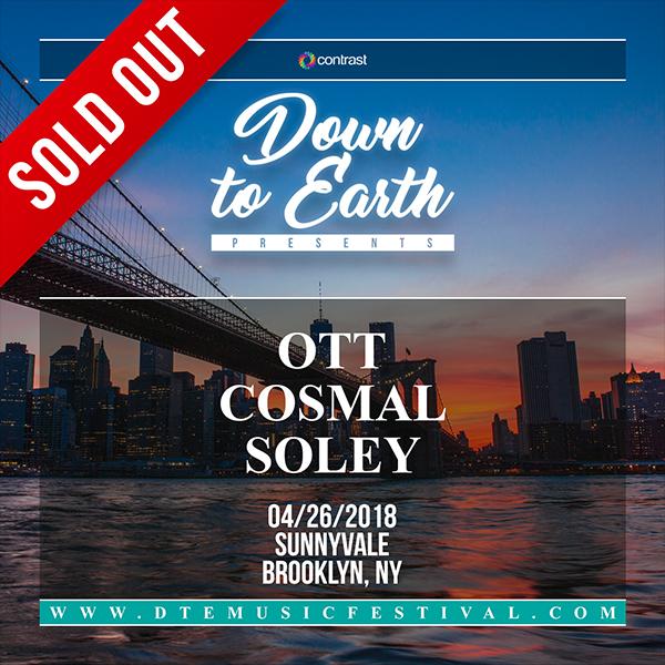 DTE Presents: Ott, Cosmal