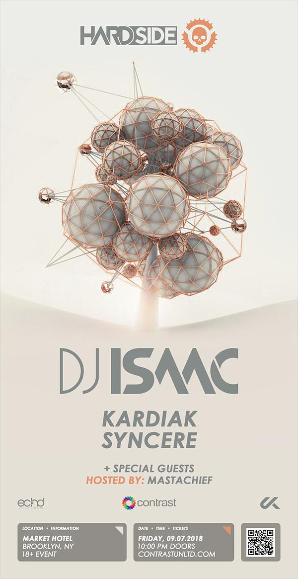 Hardside w/ DJ Isaac, Kardiak, Syncere