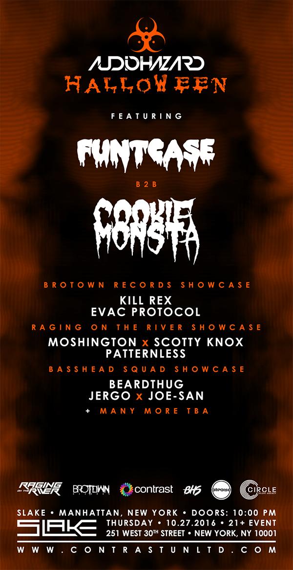 Audiohazard Halloween w/ FuntCase B2B Cookie Monsta