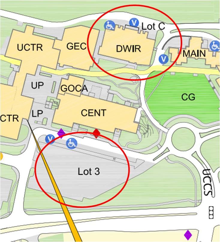 diagram of campus