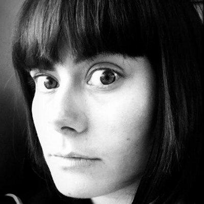 Black-and-white image of Emma Baggott