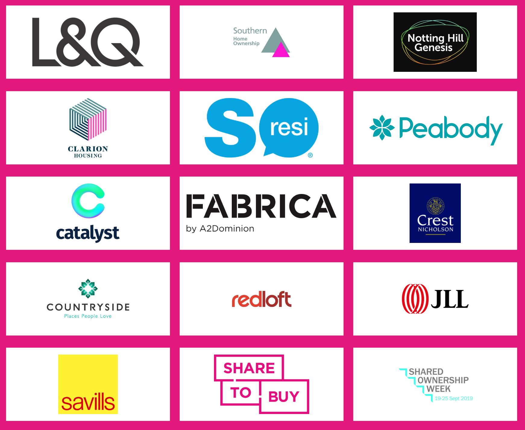 London Home Show Autumn 2019 sponsors