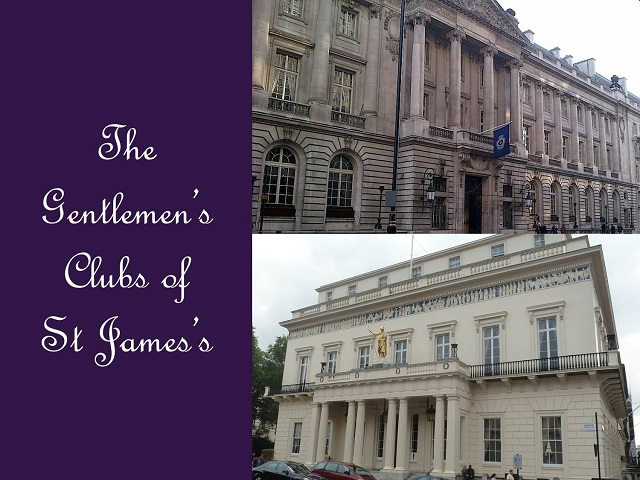 London Gentlemen's clubs walk