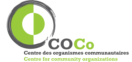 COCo Logo - intersecting white and green circles