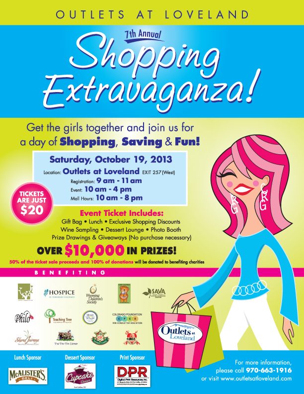 Shopping Extravaganza Flyer