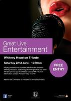 Whitney Houston Tribute LIVE at Grosvenor G Casino Luton