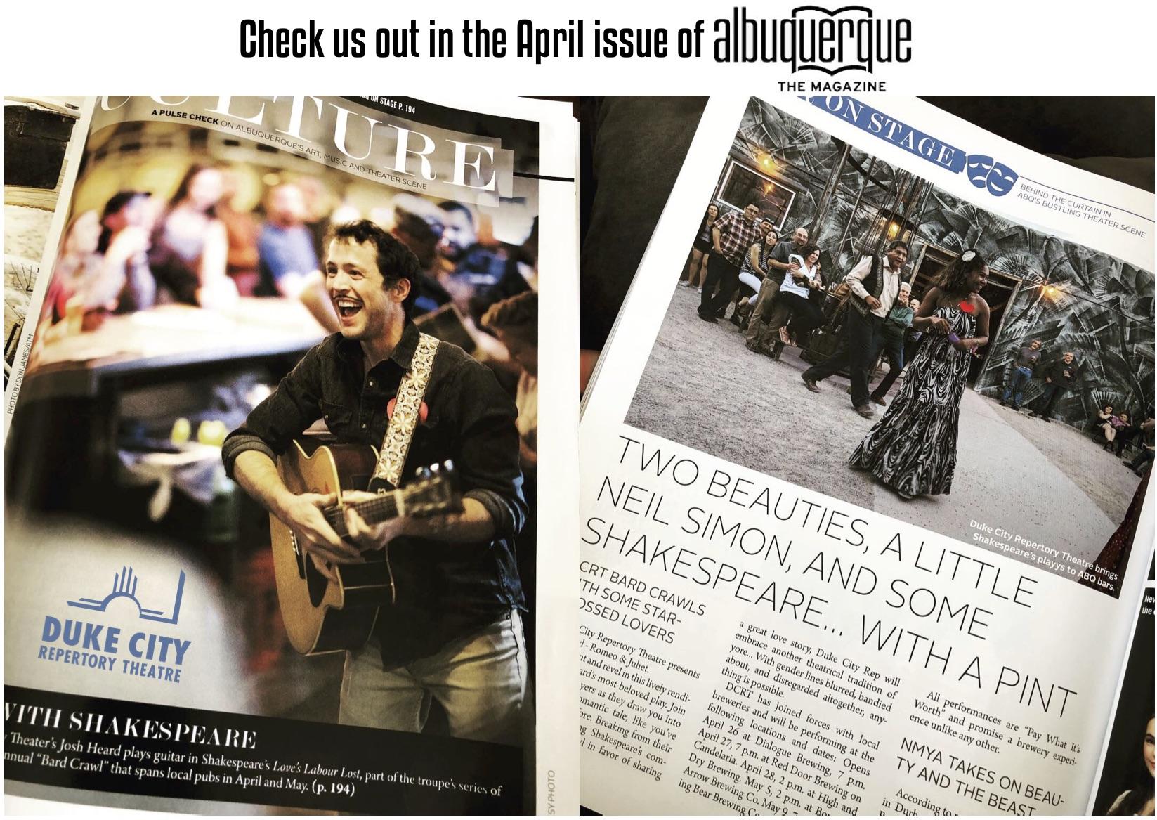 Albuquerque the Magazine Article