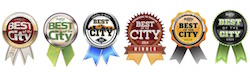 Best of the City Ribbons 2011-16