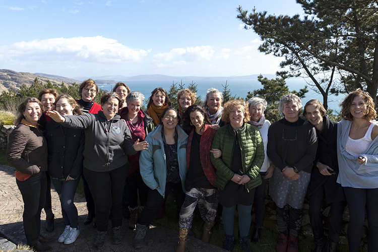 Women from the 2017 Retreat in Ireland