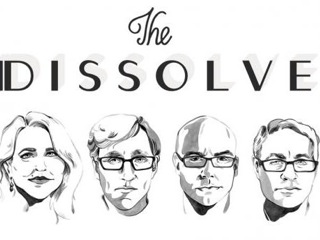 The Logo for The Dissolve