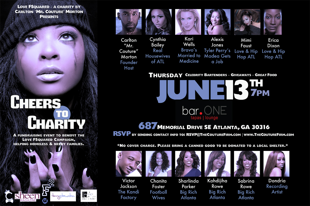 Cheers to Charity Invite - June 13, 2013