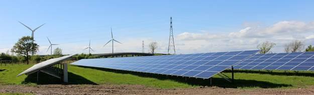 Moorhouse Solar farm, courtesy of Solarsense, copyright 2015