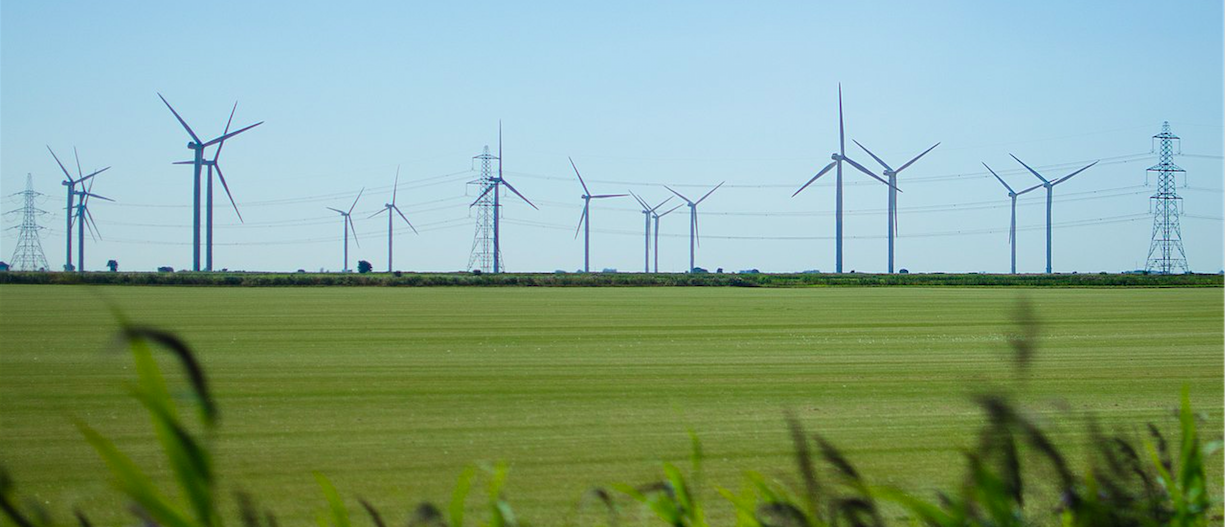 wind turbines uk CC