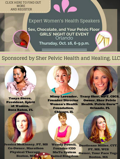 Sex, Chocolate, and Your Pelvic Floor Event