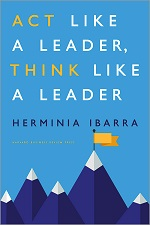 Book cover - Act Like a Leader, Think Like a Leader